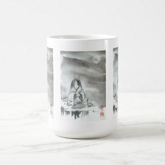 Taza Meditating de Oni