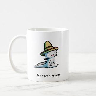 Taza mexicana del Axolotl