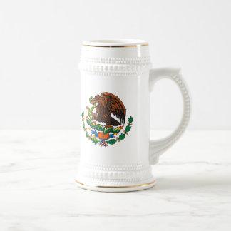 Taza mexicana del escudo de armas