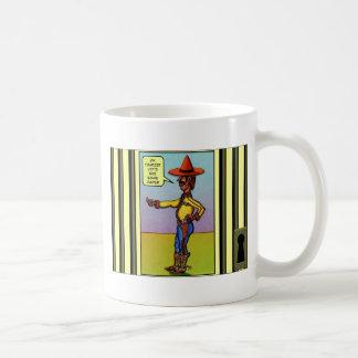 Taza mexicana del sheriff
