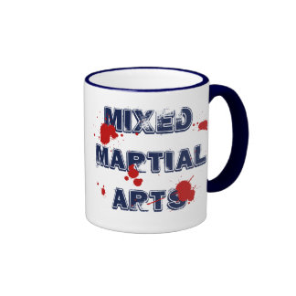 Taza mezclada de los artes marciales