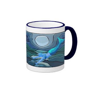 Taza mística de la sirena