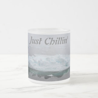 Taza mística de los icebergs