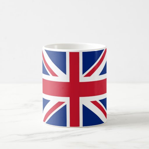 Taza Morphing de la bandera de Reino Unido /UK/Bri