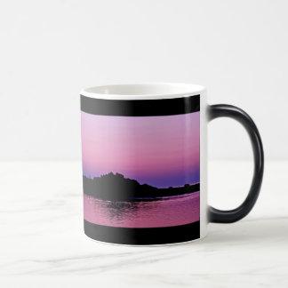 Taza Morphing de la puesta del sol de Cape Cod