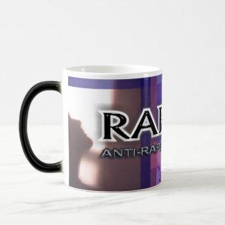 Taza morphing de la taza promocional de RapeX