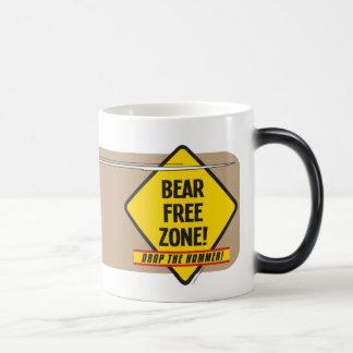 Taza Morphing de la zona franca 2 del oso