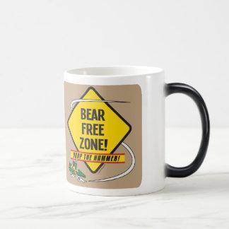 Taza Morphing de la zona franca del oso