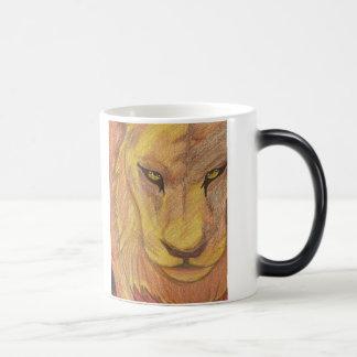 Taza Morphing del león