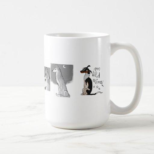 Taza Morphing del perro simple