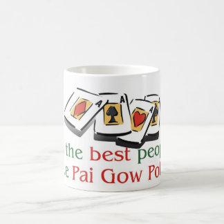 Taza morphing del póker de Pai Gow