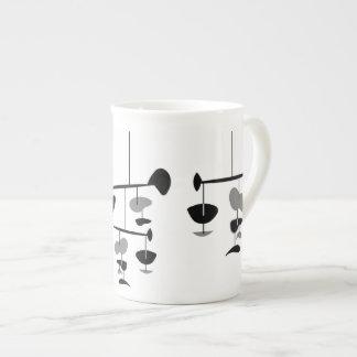 Taza MÓVIL de la porcelana de hueso Taza De Porcelana