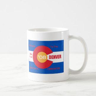 Taza nacional de Denver del convenio Democratic