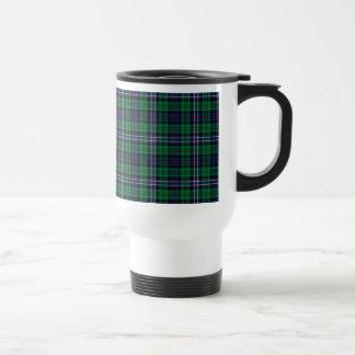 Taza nacional escocesa del viaje del tartán