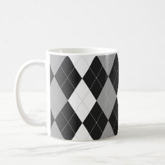 Taza negra de Argyle