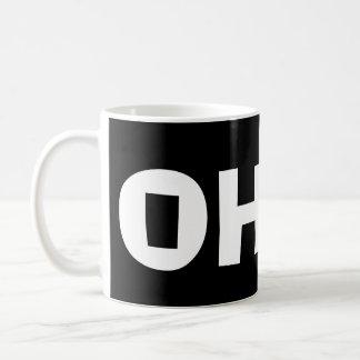 Taza negra de OHIO* OH