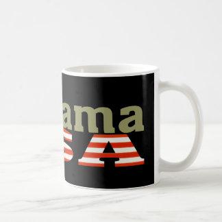 Taza negra fresca de Alabama los E.E.U.U.