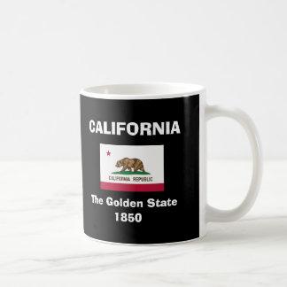 Taza negra grande de California* CA