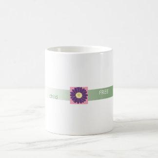 Taza Niño-Libre de la flor