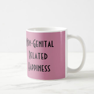 Taza No-Genital de la felicidad