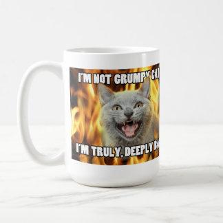 Taza no gruñona del gato