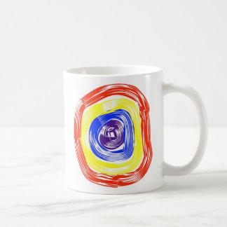 Taza Nonfigurative del color