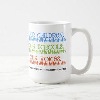 Taza Nuestros niños nuestras escuelas nuestras