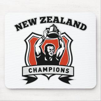 Taza Nueva Zelanda del campeonato del jugador del Tapete De Ratón