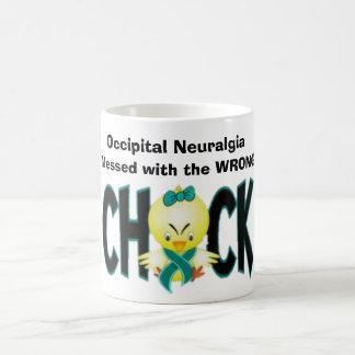 Taza occipital de la conciencia de la neuralgia