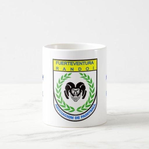 Taza Oficial Asociación Paintball Randoi Logo - M2
