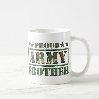 Taza orgullosa de Brother del ejército