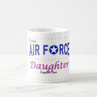 Taza orgullosa de la hija de la fuerza aérea