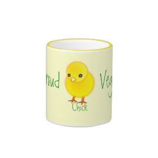 Taza orgullosa del polluelo del Veggie