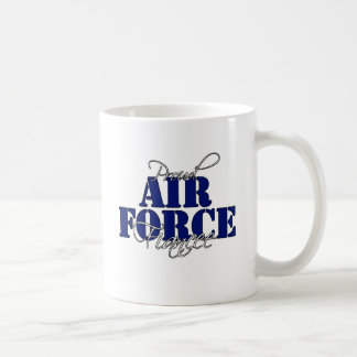 Taza orgullosa del prometido de la fuerza aérea
