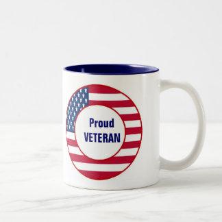Taza orgullosa del veterano