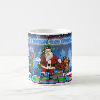 Taza oscilante del navidad de Santa