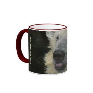 Taza: Oso polar sonriente (campanero)