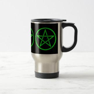 Taza pagana del viaje de Wiccan del Pentagram trip