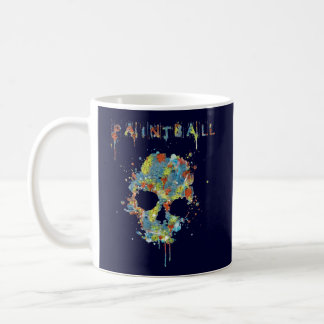 Taza Paintball Calavera - M2