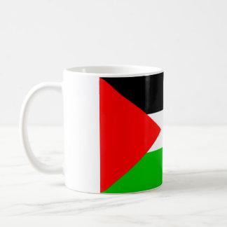 Taza palestina de la bandera