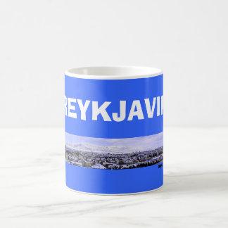 Taza panorámica de Reykjavik* Islandia