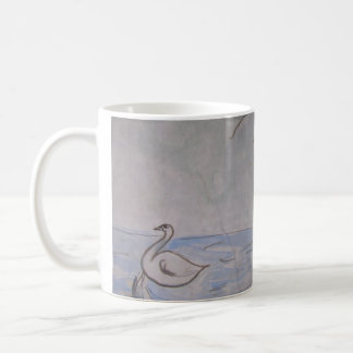 taza paralela del cisne y del universo del