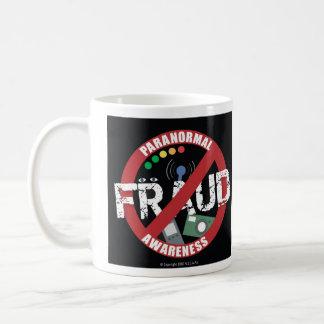 Taza paranormal de la conciencia del fraude