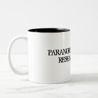 Taza paranormal del equipo de investigación de la