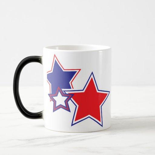 Taza patriótica de la estrella