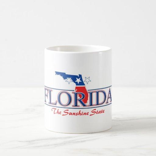 Taza patriótica de la Florida
