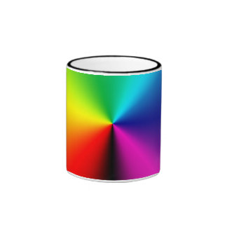 Taza Pattern00 del arco iris de TrashcanLou