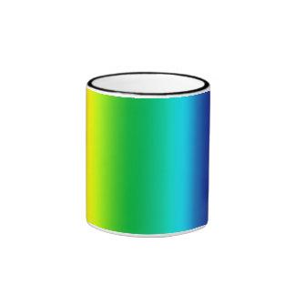 Taza Pattern04 del arco iris de TrashcanLou