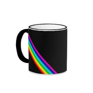 Taza Pattern07 del arco iris de TrashcanLou