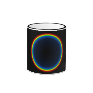 Taza Pattern09 del arco iris de TrashcanLou
